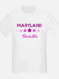 MARYLAND socialite T-Shirt