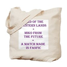 Lord+Miko Purple Tote Bag