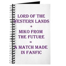 Lord+Miko Purple Journal