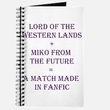 Lord+Miko Purple Journal