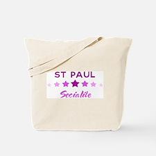 ST PAUL socialite Tote Bag
