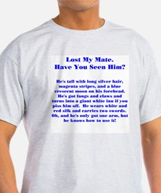 Lost Mate Blue T-Shirt