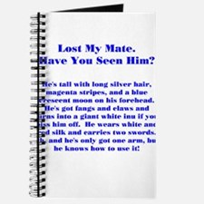 Lost Mate Blue Journal