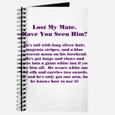 Lost Mate Purple Journal