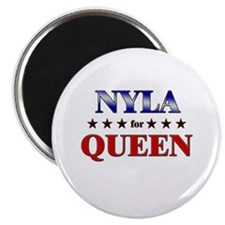 """NYLA for queen 2.25"""" Magnet (10 pack)"""