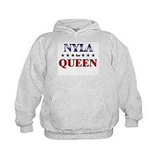 NYLA for queen Hoodie