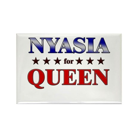 NYASIA for queen Rectangle Magnet (10 pack)