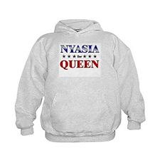 NYASIA for queen Hoodie