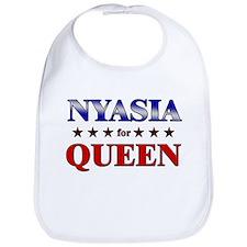 NYASIA for queen Bib