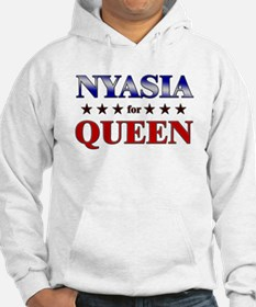 NYASIA for queen Hoodie Sweatshirt