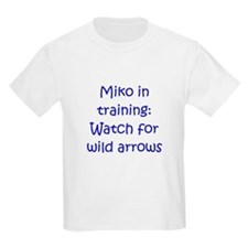 Miko Training Arrows Blue T-Shirt