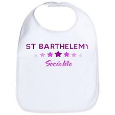 ST BARTHELEMY socialite Bib