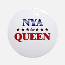 NYA for queen Ornament (Round)