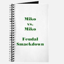 Miko vs. Miko FS Green Journal