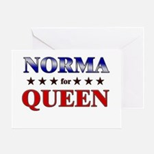NORMA for queen Greeting Card