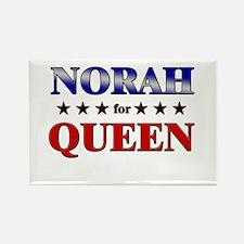 NORAH for queen Rectangle Magnet