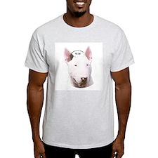 Bull Terrier Ash Grey T-Shirt