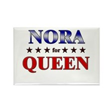 NORA for queen Rectangle Magnet