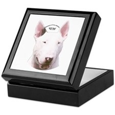 Bull Terrier Keepsake Box