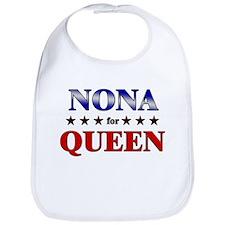 NONA for queen Bib