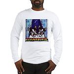 FRENCH BULLDOG window Long Sleeve T-Shirt