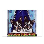 FRENCH BULLDOG window Postcards (Package of 8)