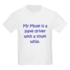 Muse Youki Whip Blue T-Shirt
