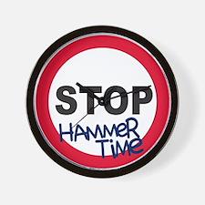 Hammertime Wall Clock