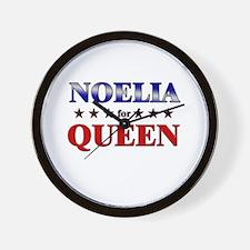 NOELIA for queen Wall Clock