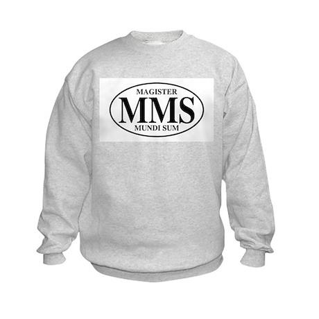 Master of the World Kids Sweatshirt