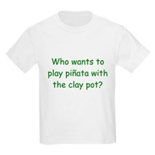 Pinata Clay Pot Green T-Shirt