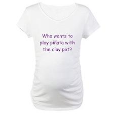 Pinata Clay Pot Purple Shirt