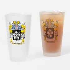 Fleuron Coat of Arms - Family Crest Drinking Glass