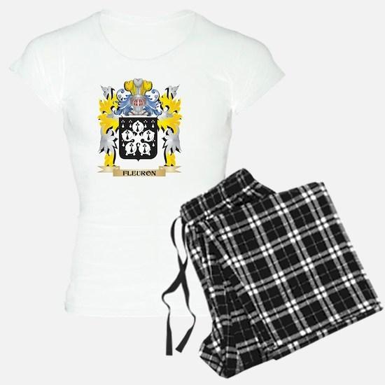Fleuron Coat of Arms - Family Crest Pajamas