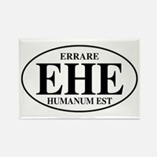 To Err Is Human Rectangle Magnet (10 pack)