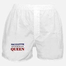 NICOLETTE for queen Boxer Shorts