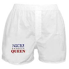 NICKI for queen Boxer Shorts