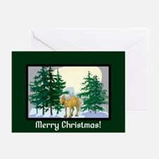 Belgian Horse Christmas Greeting Cards (Pk of 20)