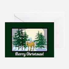 Belgian Horse Christmas Greeting Cards (Pk of 10)