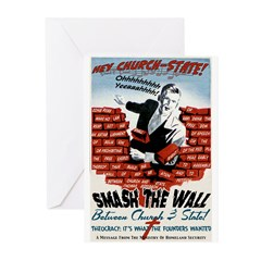 Smash the Wall Greeting Cards (Pk of 10)
