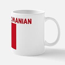 KISS ME I AM ROMANIAN Mug