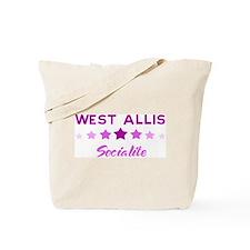 WEST ALLIS socialite Tote Bag