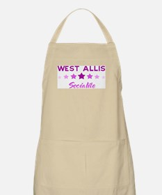 WEST ALLIS socialite BBQ Apron
