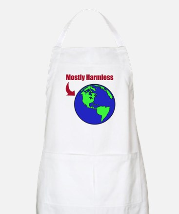 HH Guide - Mostly Harmless - BBQ Apron