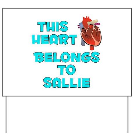 This Heart: Sallie (B) Yard Sign