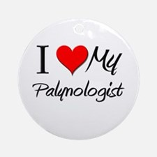 I Heart My Palynologist Ornament (Round)