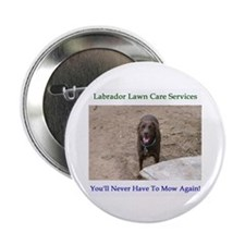 "Lab Lawn Care Services 2.25"" Button (100 pack)"
