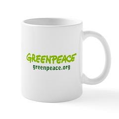 Greenpaece logo Mug