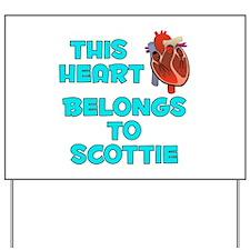 This Heart: Scottie (B) Yard Sign
