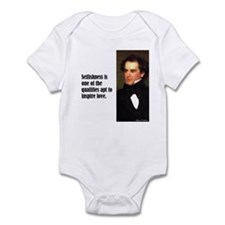 "Hawthorne ""Selfishness"" Infant Bodysuit"